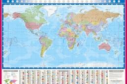 Laminated and encapsulated maps