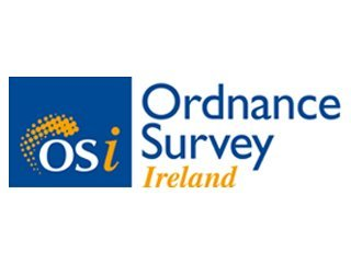 Ordnance Survey Ireland logo - Map printing