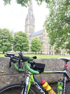 Salisbury Cathedral - Cannondale Liquid Gas SuperSix