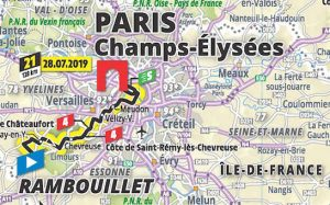 Detail - Tour De France Official Map 2019