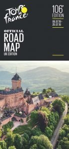 Front Cover - Tour De France Official Road Map