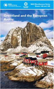 Cover of Arctic Map - British Antarctic Survey