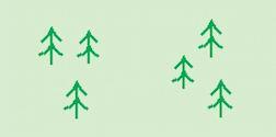 Woodland os map symbols