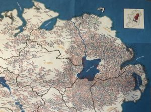 Plantation Surnames of Ireland map